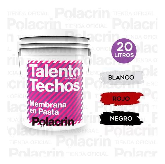 Membrana Pasta Techos Oferta 20 Lt Talento Envio Cuota