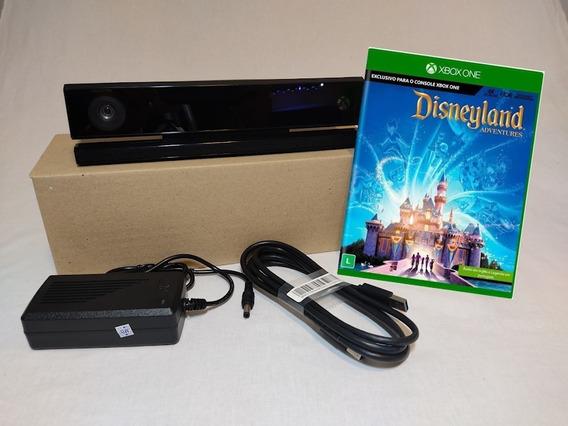 Kinect Adaptado Para Xbox One X + Jogo Disneyland Advantures