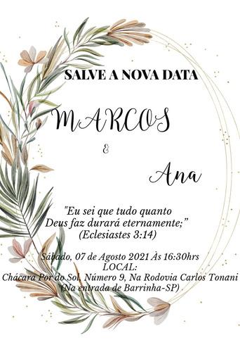Convite De Casamento/aniversário  Online