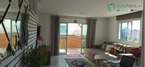 Imagem 1 de 15 de Surpreendente Cobertura Duplex Vista Livre Com Piscina No Bairro Do Marapé - 2707