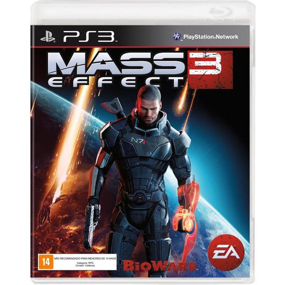 Mass Effect 3 Ps3 Game Original