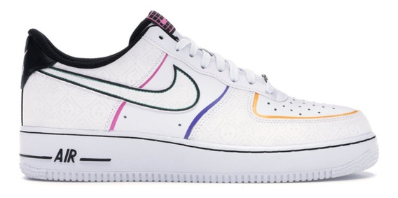Tenis Nike Air Force 1 Day Of The Dead (2019)