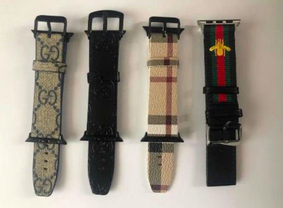 Extensible Correa Tipo Gucci Burberry Apple Watch Iwatch