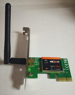 Tarjeta Wifi Pci-e N 150mbps Nexxt Ion150