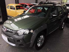 Fiat Palio Weekend Adventure 1.8 16v Flex 2014 Verde Revisad