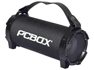 Parlante Pcbox Ice Bluetooth Bateria 1800 Mah Micosd Negro