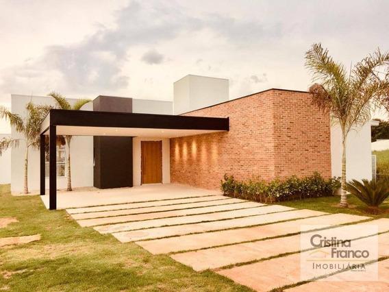 Casa Com 3 Dormitórios À Venda, 230 M² Por R$ 960.000 - Condomínio Terras De Mont Serrat - Salto/sp - Ca2181