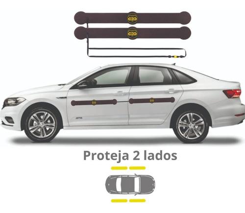 Imagem 1 de 7 de Protetor De Porta Para Carros Shields - Longo Kit C/ 4 Prot