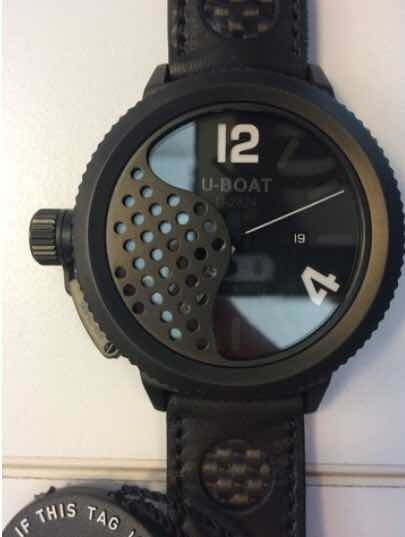Reloj Uboat Eclipse Nuevo