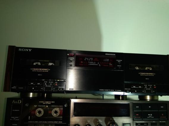 Tape Deck Sony Muito Conservado Tc-wr890, Não Akai,gradiente