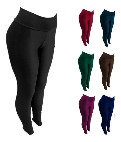 Pantalones Leggins Gym Por Tallas By Plutonio