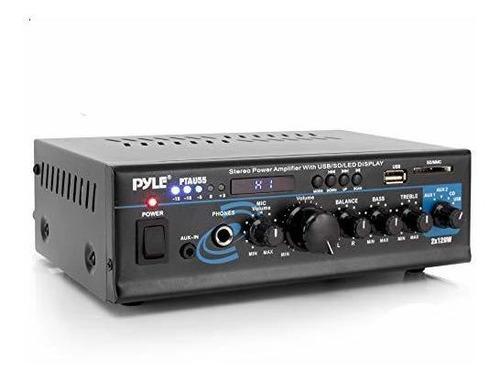 Imagen 1 de 7 de Sistema De Amplificador De Potencia De Audio Para El Hogar -
