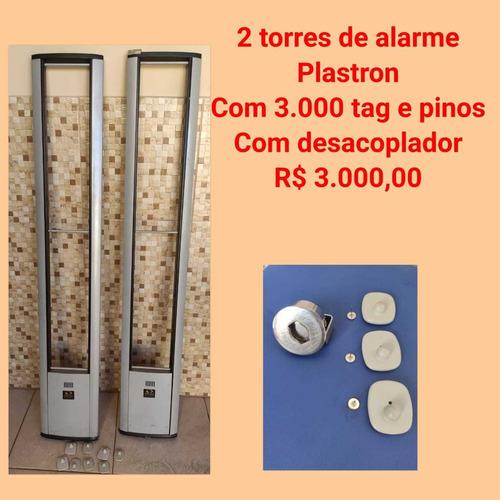 Imagem 1 de 3 de Antenas De Alarme, Tags E Desacoplador