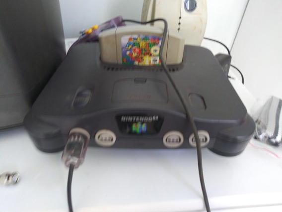 Nintendo 64 Completo 1 Controle E 1 Jogo