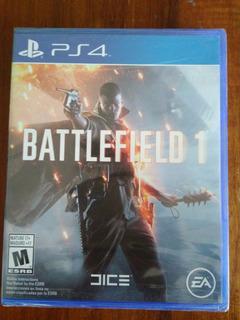 Battlefield 1 Juego Ps4 Nuevo Y Sellado En Español