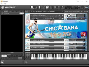 Kit Chicabana 2018 + Ritmo Yamaha