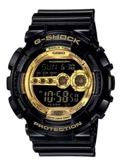 Relógio Casio G Shock Protection Gd-100gb-1dr Nota Fiscal Ca