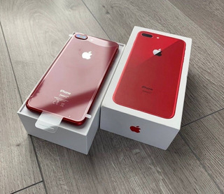 Apple iPhone 8 Plus 128gb Rojo Nuevo Original