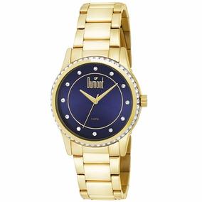 Relógio Dumont Feminino Dourado - Du2035lqc/4a - Nfe