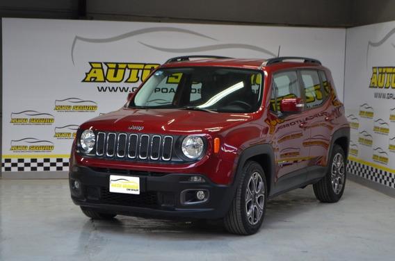 Jeep Renegade 2018 Latitude Color Rojo Automatica