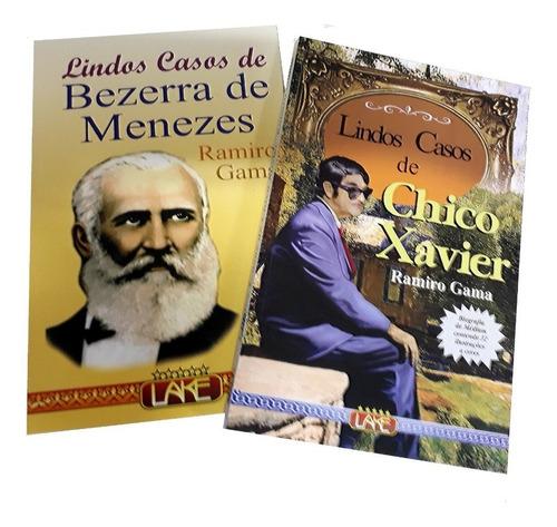 Coleção Lindos Casos Bezerra De Menezes  Chico De Xavier