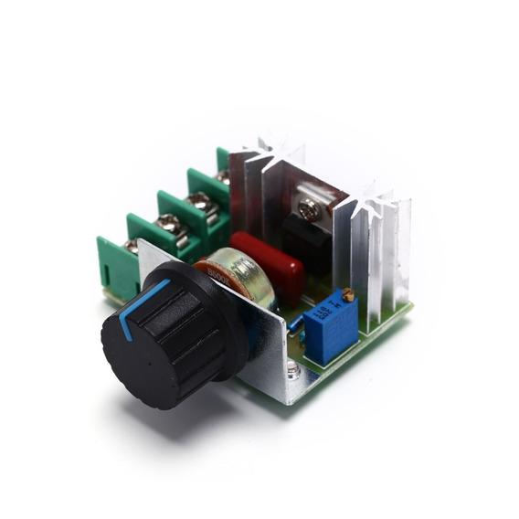 Controlador Motor C/potenciômetro Ac 50v-220v-2000w-cod.133
