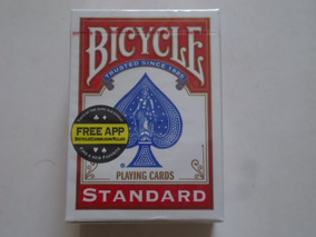 Baralho Bicycle Standard Vermelho Magica