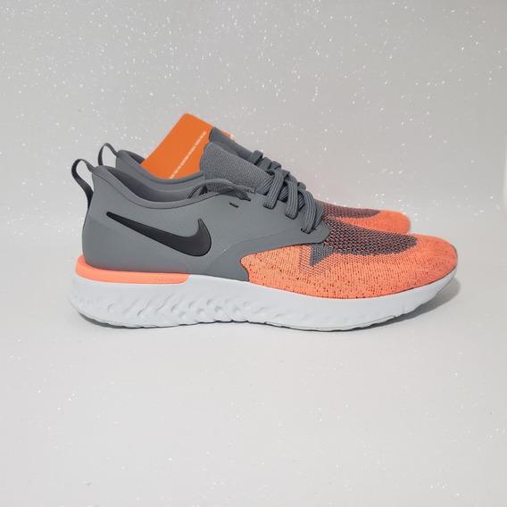 Tênis Nike Odyssey React 2 Flyknit Cinza Tam 39 Original