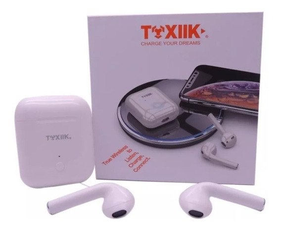 Audífono Bluetooth Toxiik Manos Libres AirPods Wireless 2