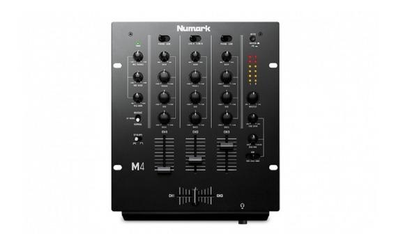 M4 Mixer De Tres Canais Numark