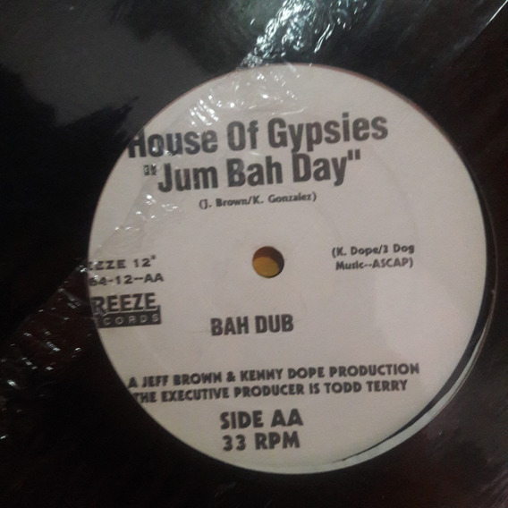 Vinilo House Of Gypsies Jum Bah Day Jum Mix Freeze Record E1
