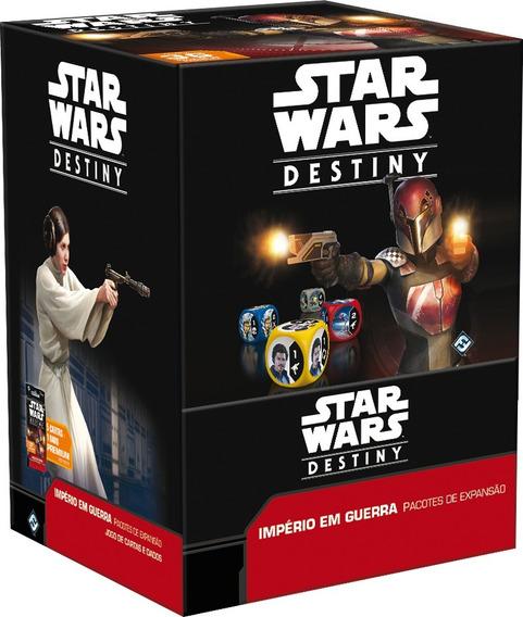 Booster Box Star Wars Destiny- Império Em Guerra - Galápagos