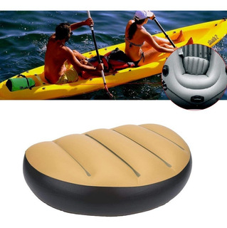 Cojin Asiento Kayak Canoa Barco Inflable Pvc