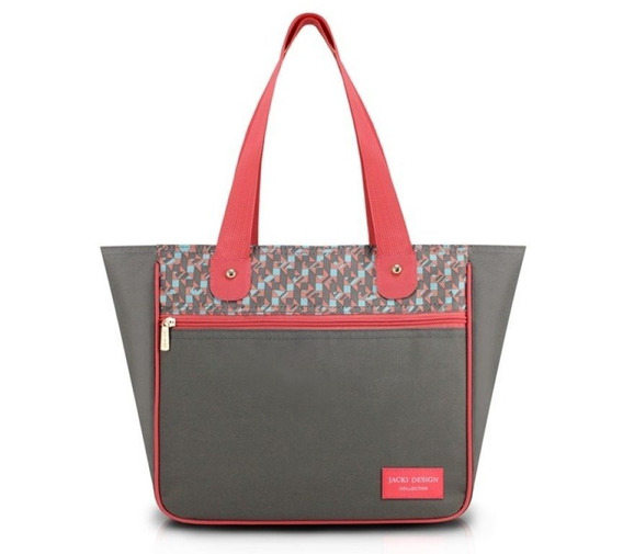 Bolsa Feminina Grande City Jacki Design Ahl17567