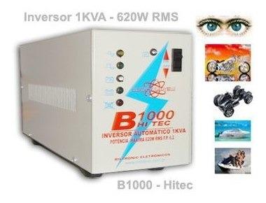 Inversor - Conversor 12v Ou 24v Para 620w Hitec-1000 (1kva)