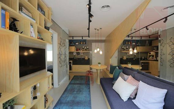 Apartamento À Venda, 32 M² Por R$ 240.000,00 - Centro - São Paulo/sp - Ap24511