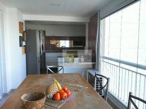 Apartamento Com 3 Dormitórios À Venda, 93 M² Por R$ 850.000,00 - Vila Leopoldina - São Paulo/sp - Ap1969