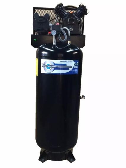 Compresor De Aire 2hp Vertical 235lts Cabezal 11 Cfm 115 Psi