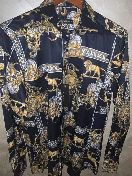 Camisa Versace Garigoleada Calidad Premium