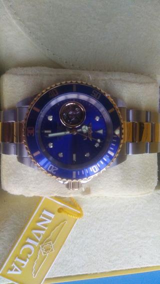 Reloj Invicta Automatico Azul