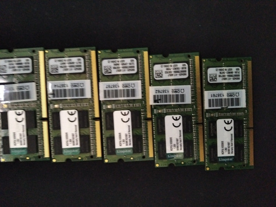 Memória Ddr3l 16gb (2x8gb) 1600mhz Kingston Kcp3l16sd8/8