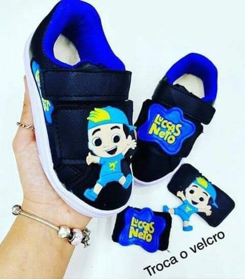 Tenis Luccas Neto Bebe & Infantil - Foto Real - Promoção