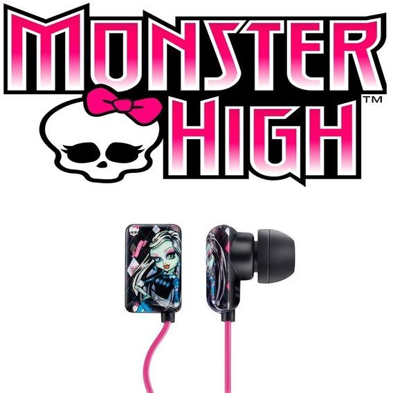 Fone De Ouvido Monster High P2 Mattel Multilaser - Ph105