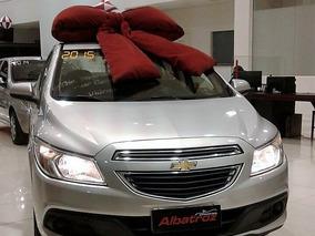 Chevrolet Prisma 1.0 Lt, Completo 2015 Prata Flex