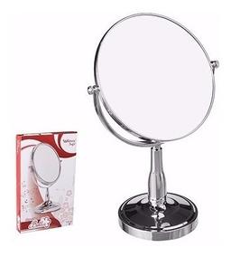 Redondo Espelho Maquiagem Dupla Face Penteadeira Atacado