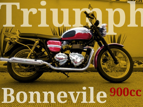 Imagen 1 de 10 de Triumph Bonnevile