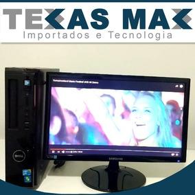 Computador Dell Core 2 Duo + Teclado , Mouse E Monitor (unit