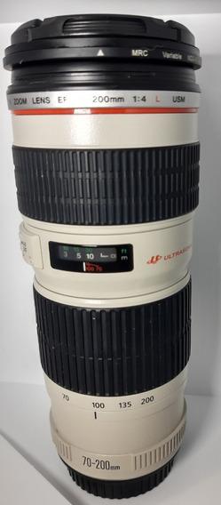 Lente Canon Zoom Ef 70-200mm