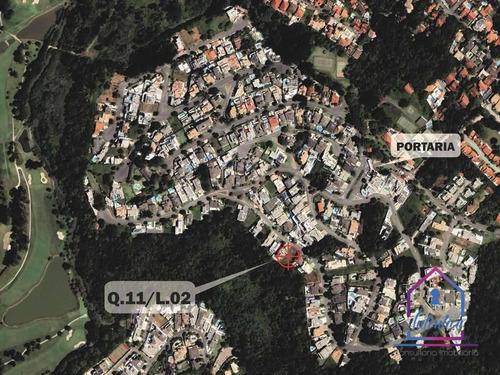 Terreno À Venda, 880 M² Por R$ 630.000 - Golf Village - Carapicuíba/sp - Te0339