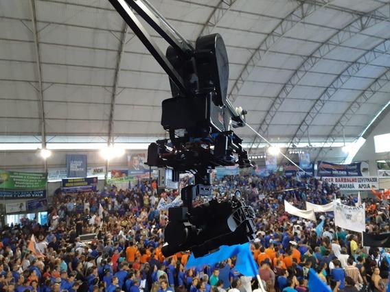 Cablecam Completo Com Gimbal, Camera, Transmissor De Imagem